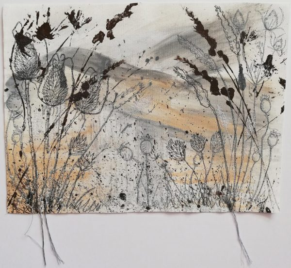 Winter Fields original artwork by Ellie Hipkin