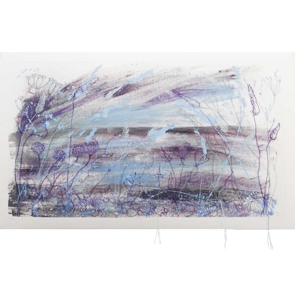 Dusk Art Print by British Artist Ellie Hipkin
