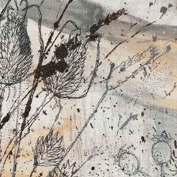 Winter Fields close up by artist Ellie Hipkin