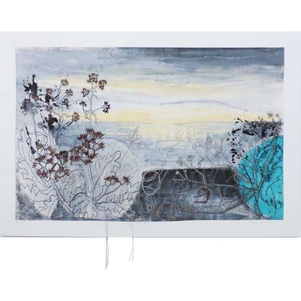 Winter Sea Mist by Artist Ellie Hipkin