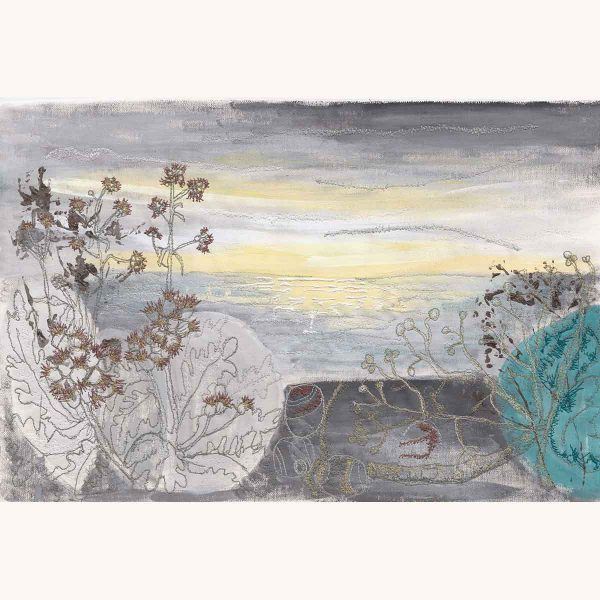 Winter Sea Mist Original painting by artist Ellie Hipkin