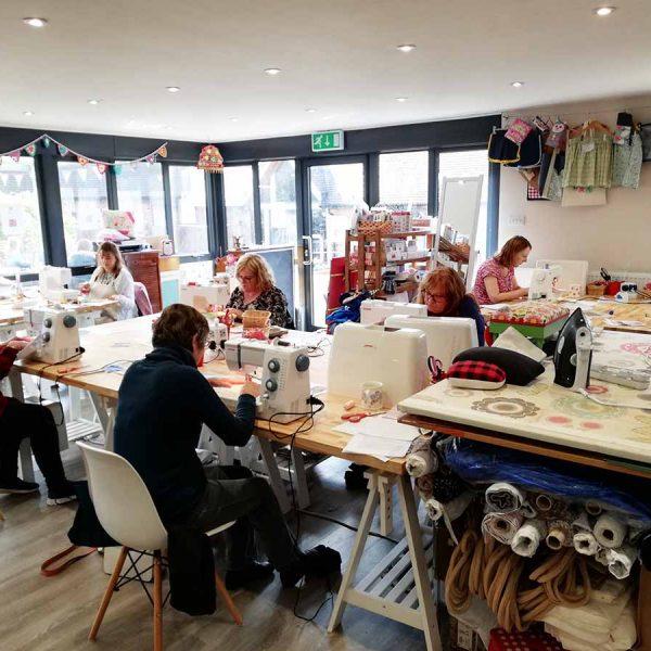 Workshop by Ellie Hipkin at Made and Making Workshop