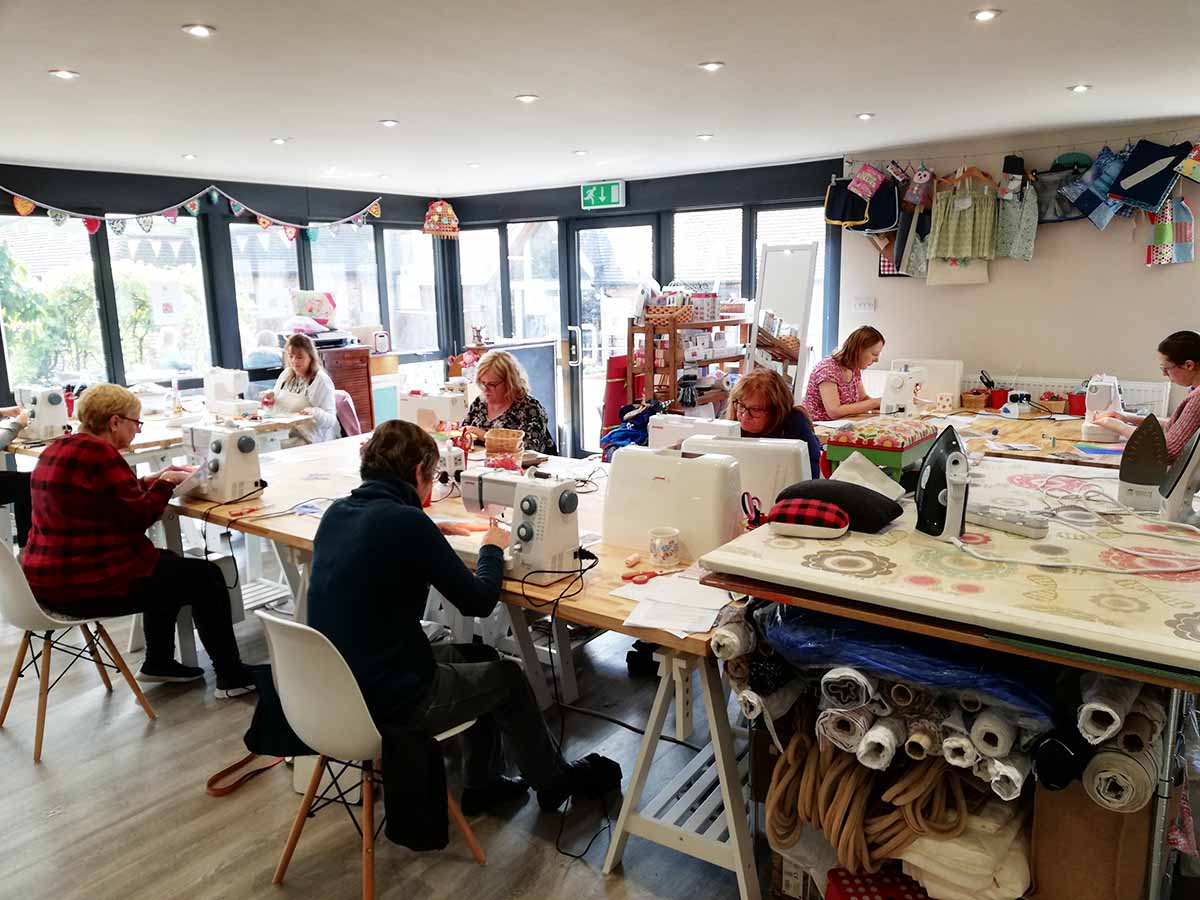Workshop by Ellie Hipkin at Made and Making Workshop